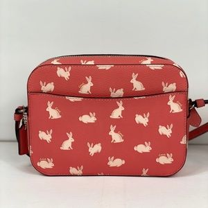Coach Bags - NWT Coach Mini Camera Bag With Bunny Script
